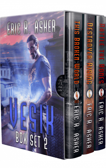 The Vesik Series: Books 4-6 Boxset