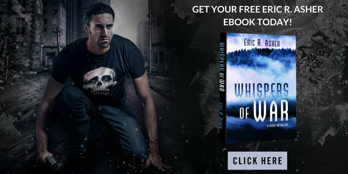 Eric R Asher Whispers of War Book Offer